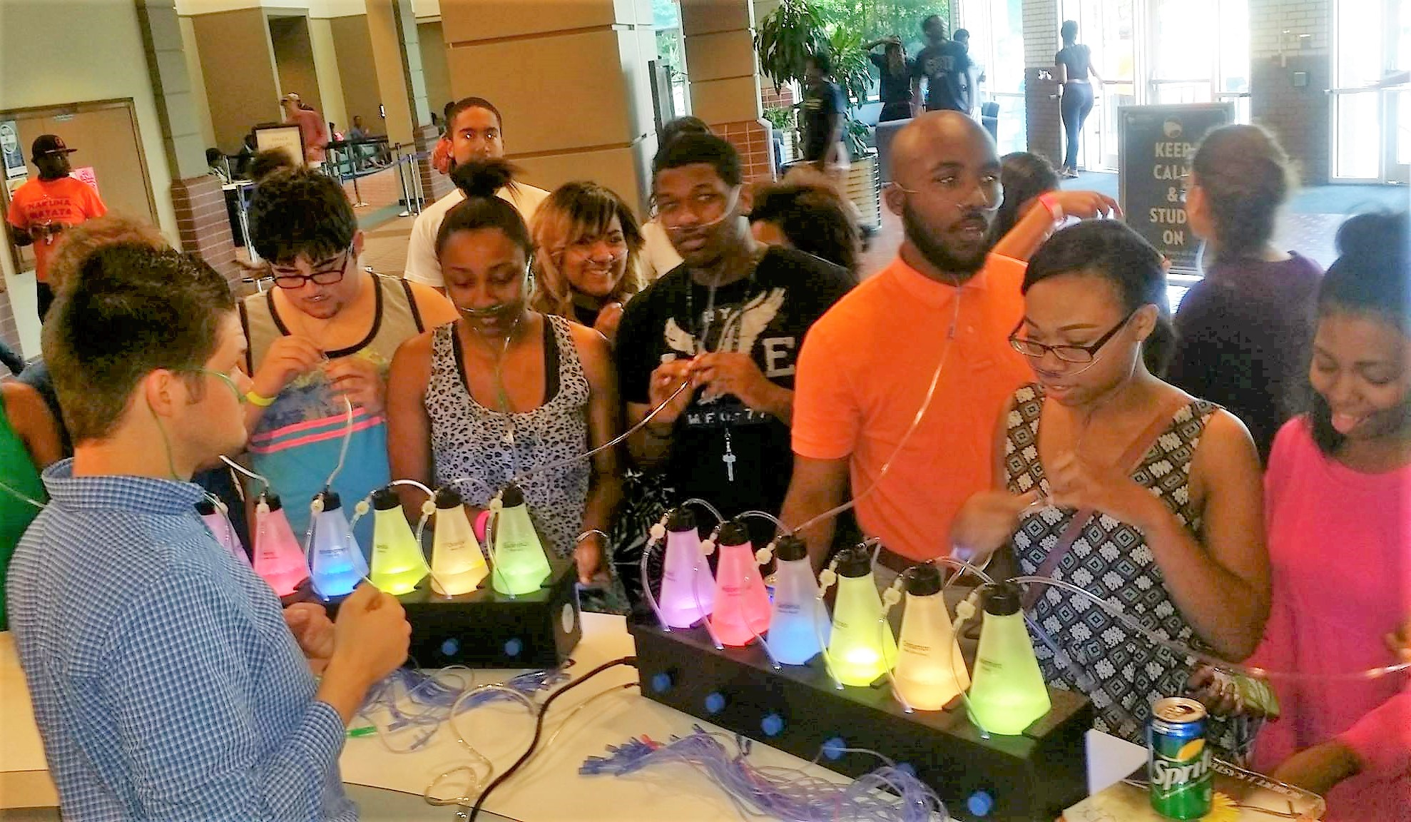 student life event ideas - oxygen bar rentals